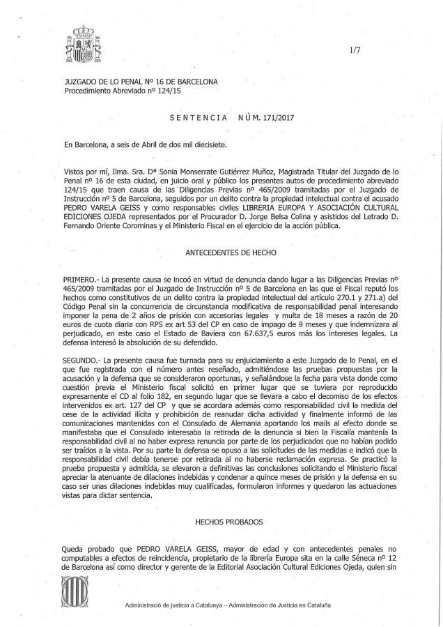 SENTENCIA 124-15-1