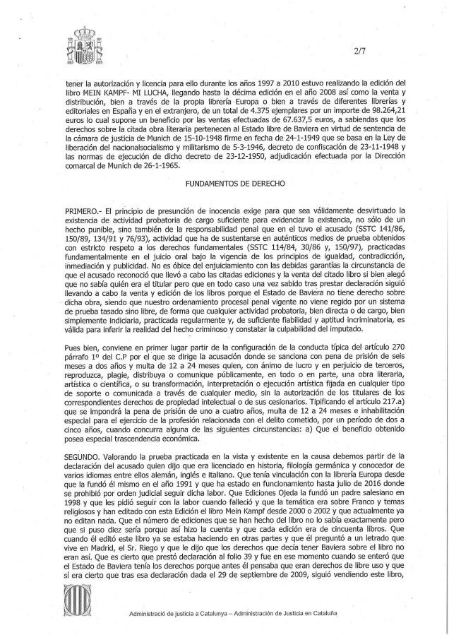 SENTENCIA 124-15-2