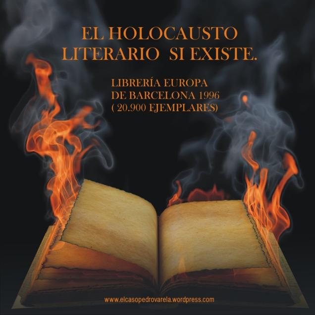 EL HOLOCAUSTO LITERARIO