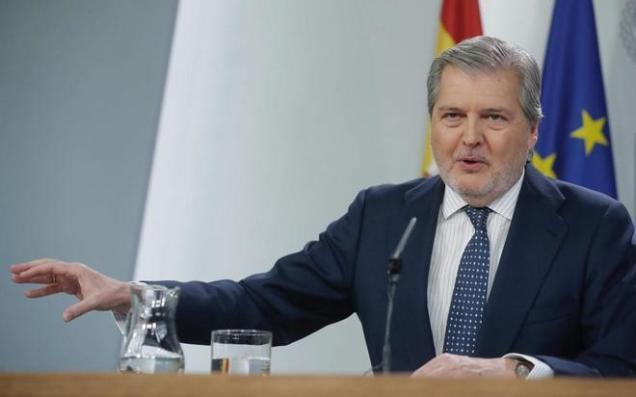 Íñigo Méndez de Vigo, el pasado viernes en rueda de prensa tras el Consejo de Ministros. Ángel DíazEFE