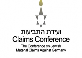 Fondos del programa parcialmente de una donación de la Conferencia sobre Reclamaciones de material judío contra Alemania. & Nbsp;
