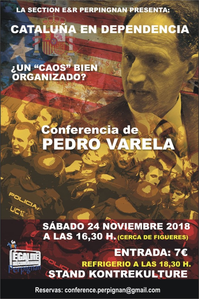 2018 CONFERENCIA PEDRO EN PERPIGNAN