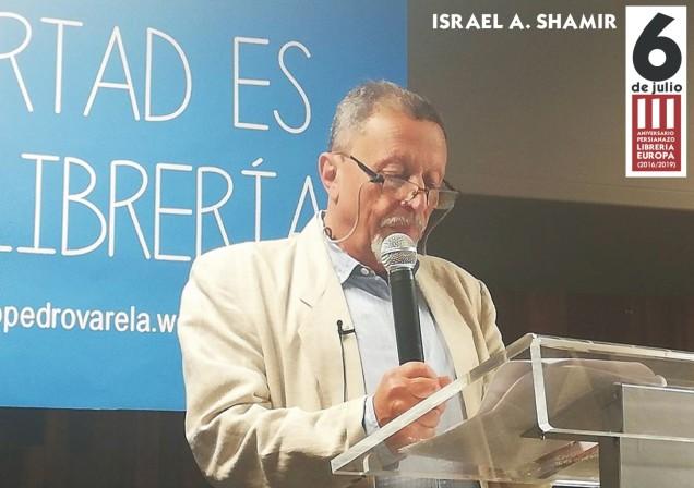 SHAMIR CON LETRERO